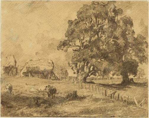 An image of The home paddock by Hans Heysen