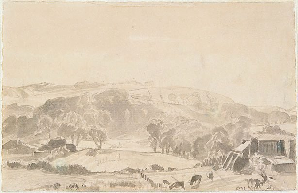 An image of Frosty morning, Mt. Barker