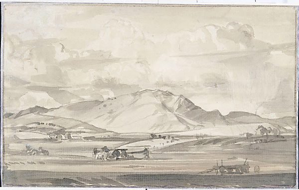 An image of Study for hills of Arkaba