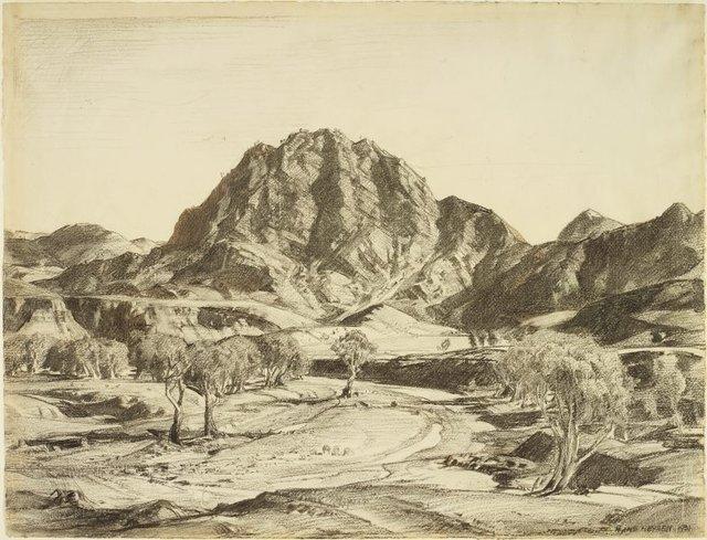 An image of The Guardian, Brachina Gorge