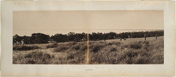 An image of Lake Menindie (panorama)