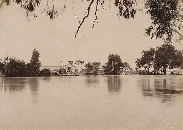 An image of Woolsheds, Moorara Station, Darling River