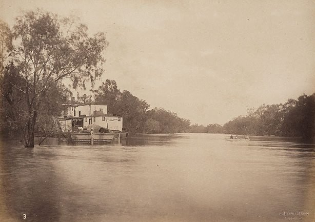 An image of On the Darling River, 40 miles below Bourke