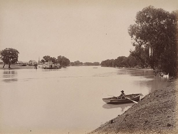 An image of Wentworth, near junction of Darling and Murray Rivers