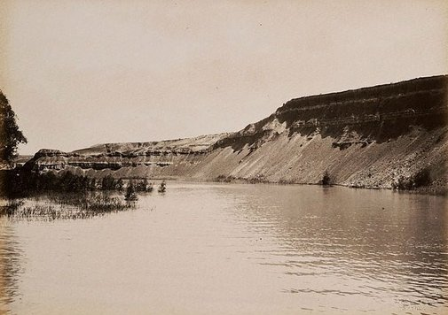 An image of Devil's Elbow, Lower Murray (second view) by Charles Bayliss