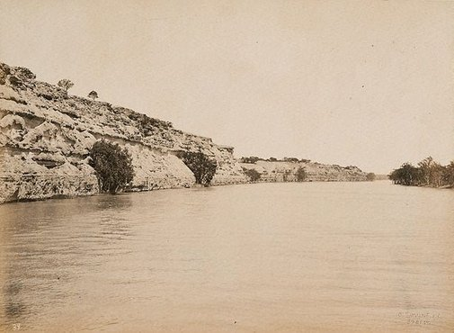 An image of Overland Corner, Lower Murray, South Australia by Charles Bayliss