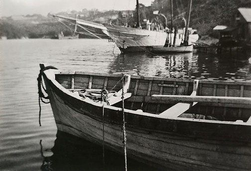 An image of Berry's bay by Harold Cazneaux