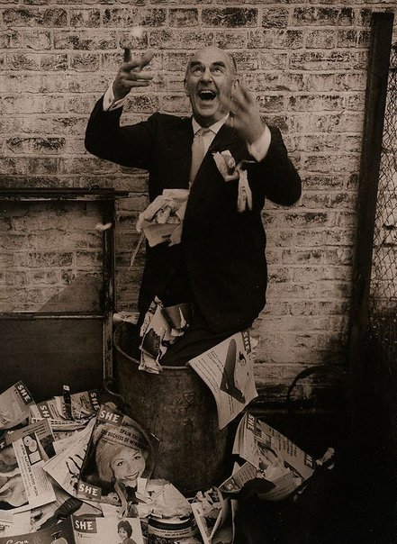 An image of Kenneth Horne, art critic/comedian, for 'She', London by Lewis Morley