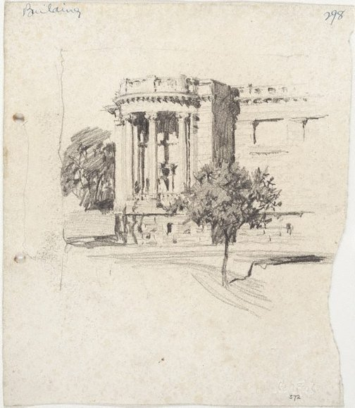 An image of The Art Gallery of New South Wales by Lloyd Rees