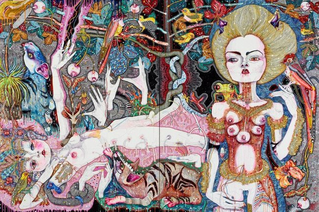 AGNSW collection Del Kathryn Barton come of things 2010