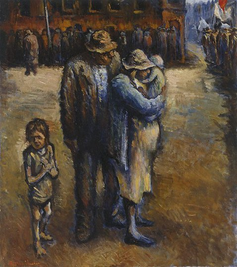 AGNSW collection Noel Counihan At the start of the march 1932 1944