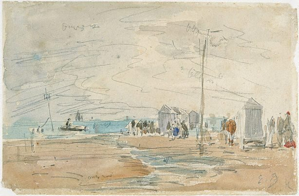 An image of Le grand bain, Trouville