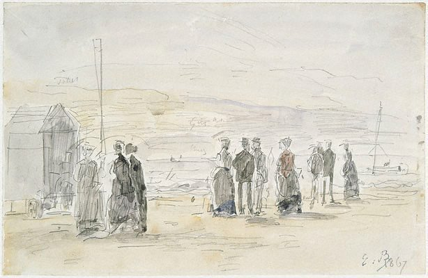 An image of Bathing hut, Trouville