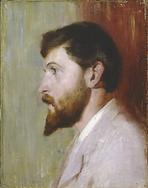 An image of Smike Streeton age 24 by Tom Roberts