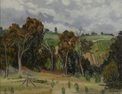 An image of Kurrajong Heights by Desiderius Orban