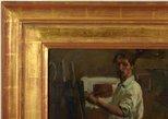 Alternate image of Artist in studio by Hugh Ramsay