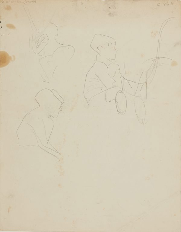 An image of (Studies of boy) (Early Sydney period)