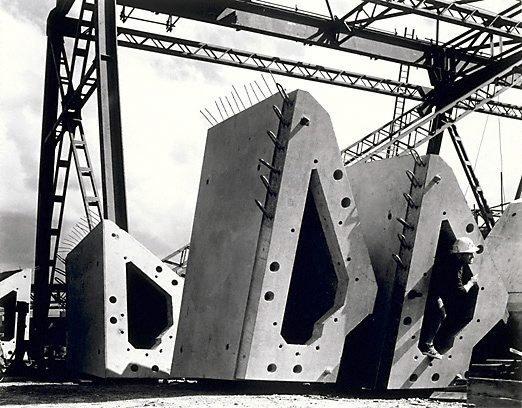 An image of Rib segments, Sydney Opera House