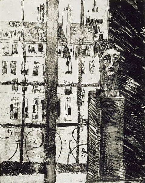 An image of The Musée Picasso by Judy Cassab