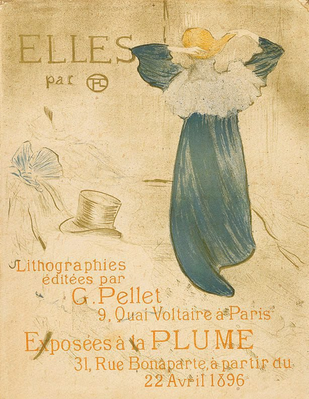"An image of Frontispiece for ""Elles"""