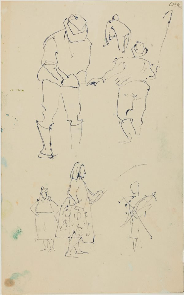 An image of (Figure studies) (Early Sydney period)