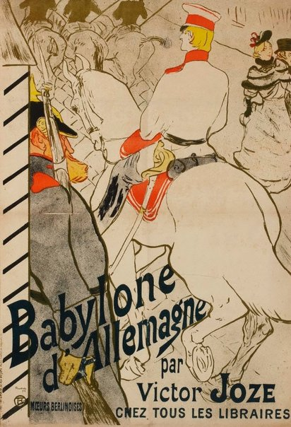 An image of Babylone d'Allemagne by Henri de Toulouse-Lautrec
