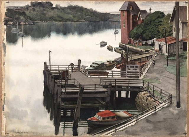 An image of Fig Tree Wharf