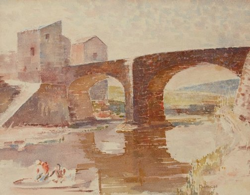 An image of Ponte Greve, Florence by Arthur Murch