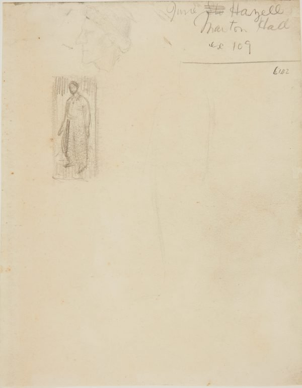 An image of (Figure and head studies) (Early Sydney period)