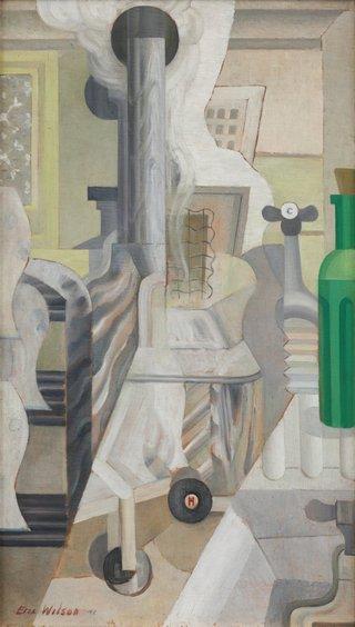 AGNSW collection Eric Wilson Hospital theme - the sterilizer 1942
