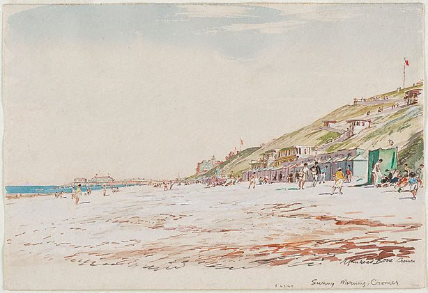 An image of Sunny morning, Cromer