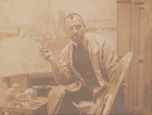 An image of Untitled (Male portrait) by Rudolph Dührkoop