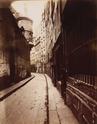 AGNSW collection Eugene Atget Rue de l'Hôtel de Ville 1921