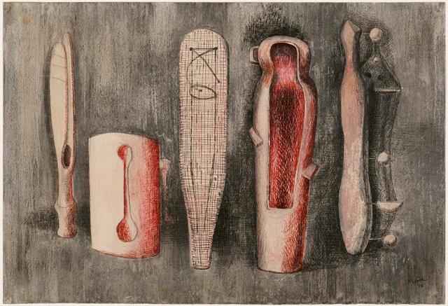 An image of Sculptural ideas, hollow form