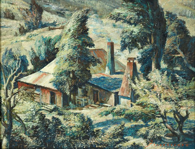 An image of A windy day, Carlon's farm
