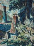 Alternate image of A windy day, Carlon's farm by Freda Robertshaw