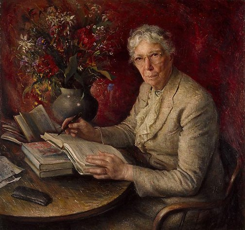 An image of Dame Mary Gilmore by Joshua Smith
