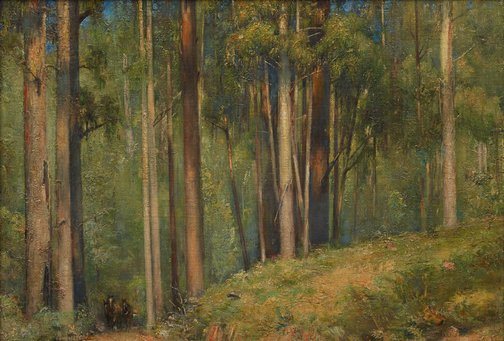 An image of Sherbrooke Forest by Tom Roberts