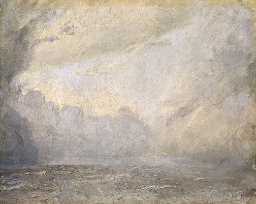 An image of Storm at sea by Tom Roberts
