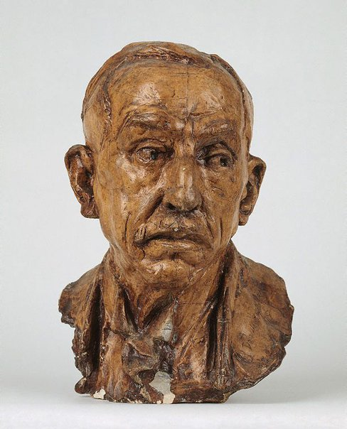 An image of William Morris Hughes (1864-1952) by Derwent Wood