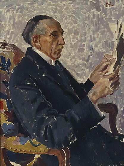 An image of Portrait of the Rt. Hon. William Morris Hughes by Augustus John OM