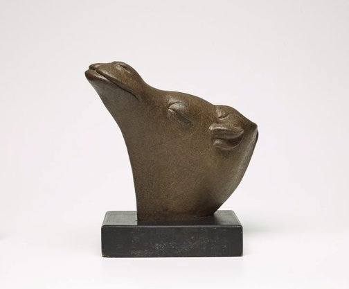 An image of Camel's head by Gerald Lewers