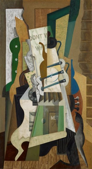 AGNSW collection Eric Wilson Abstract - the kitchen stove (1943) 7663