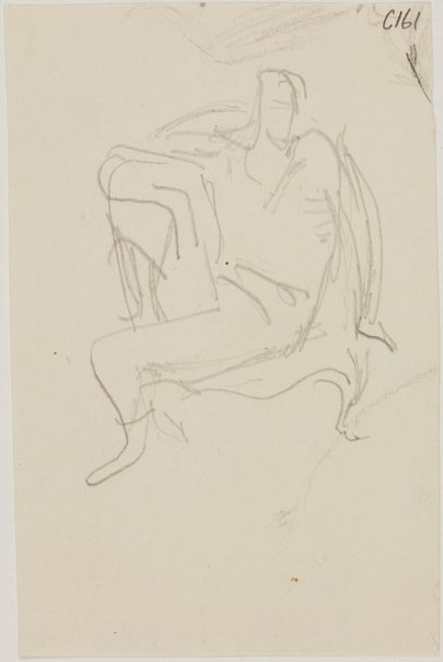 An image of (Figure study) (Early Sydney period) by William Dobell