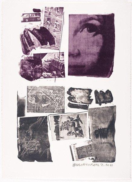 An image of Pledge by Robert Rauschenberg