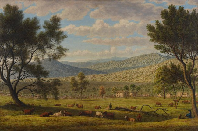 AGNSW collection John Glover Patterdale farm (circa 1840) 77.1974