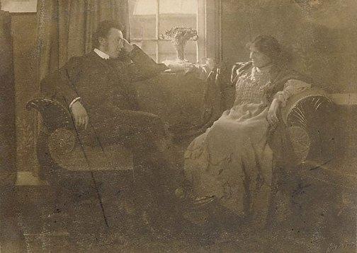 An image of In the twilight by Rudolph Dührkoop