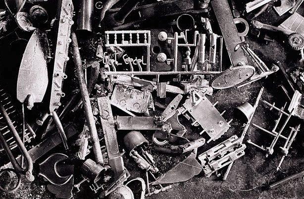 An image of Robert Klippel's sculpture material, Sydney