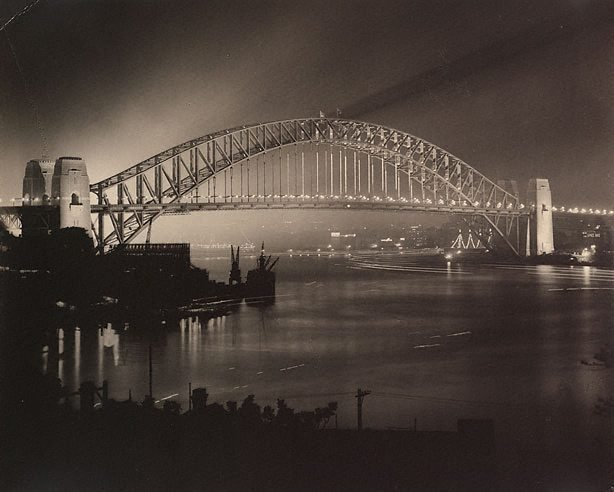 An image of Untitled (opening night of Sydney Harbour Bridge)