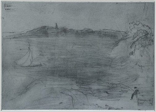 An image of Plate for 'Bay at Northwood' by Lloyd Rees